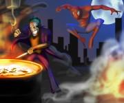 Spiderman VS Joker