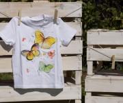 tshirt dipinta a mano 2 anni