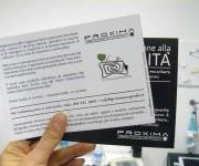 Proxima - Associazione no-profit Corso teatrale - Volantino retro