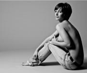 Iryna Horyeva, modella,