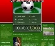 www.toscolanocalcio.com sito web in flashcio