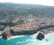 Foto aerea di Tropea