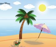 Illustrazione Beach