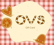 OVS Gift card biscotti copia