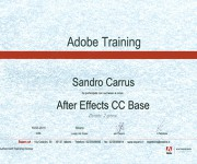 Attestato Corso After Effects Base