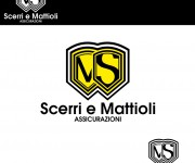 Logo per scerri e mattioli assicurazioni 01