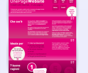 www.onepagewebsites.it - OPW sito web One Page Website