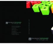 Brochure designer di profumi