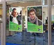 Cornice porta poster