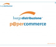 Burgo Distribuzione > P@percommerc