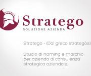 Naming e marchio per azienda di consulenza strategica aziendale.