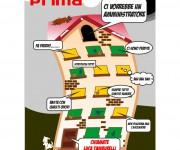 Volantino per pubblicità nuovo ufficio amministrazione condominiale 01
