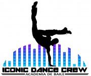 logo academia baile iconic dance crew