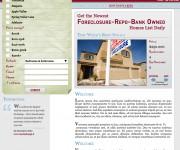 Web design della homepage di High Desert's, California