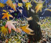 Vorrei essere albero e ospitare leggeri pensieri - Autunno è sulle foglie