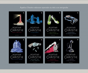 Progetto serie preziosa su tela e serigrafia per Oscar Mondadori