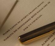 Partecipazione con penna