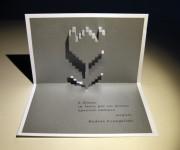 Biglietti pop up Festa della donna 2014 by Casaisna