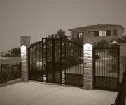 Progetto recinzione lotto e sistemazione giardino - Loc.Valtiberina
