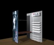 FILA SHOP 01 - design: Studio De Lucchi