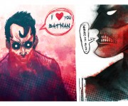 batman joker - strange love