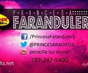 tarjeta presentacion princesa emisora