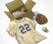 Family baseball star