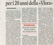 Missione Vlora -  Gazzetta del mezzogiorno 29-7-11