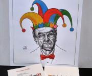 promozione nuovo libro di ritratti satirici
