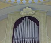 Canne d'organo trompe l'oeil
