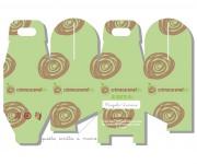 Creme Caramel gelato, creazione grafica packaging 01