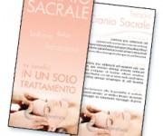 Volantino promo massaggio craniosacrale