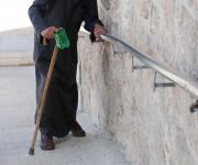 Anziano custode di una chiesa (deportato dai campi di concentramento) - Gerusalemme