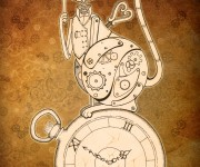 Steampunk Clockwork Cat