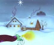 ciclotrombetto sulla neve