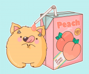 Stanley loves peaches