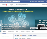Pagina Facebook Unica Point