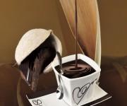 cascade of chocolate
