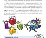 pagina interna opuscolo sui vaccini.
