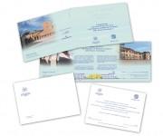 Piastra del San Camillo, Roma - Invito per l'inaugurazione