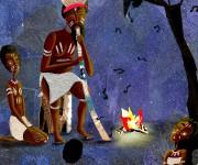 la musica (tratta dal mito australiano sulla creazione della via lattea)