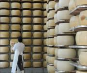 Stagionatura del Parmigiano Reggiano