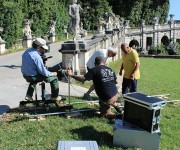 Backstage Docufiction Reggia di Caserta