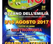 Locandina - Agosto con noi Ozzano