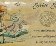 Biglietto Enrico Esma - fronte