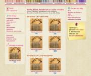 Web design dell'interfaccia di un e-commerce