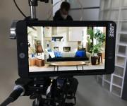 Backstage riprese video spot pubblicitario nello Studio Color