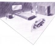 sketch - camera letto 2